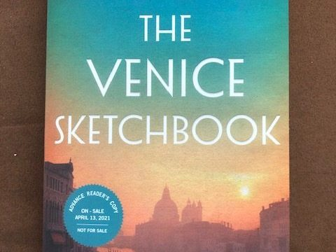 The Venice Sketchbook by Rhys Bowen #interview #altread #review