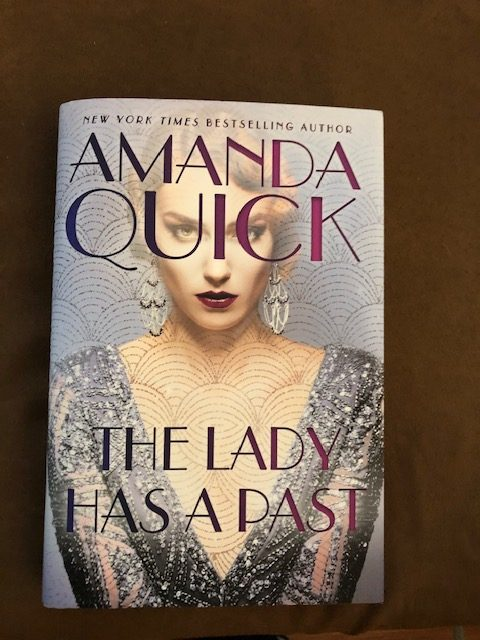 The Lady Has A Past by Amanda Quick - Instagram