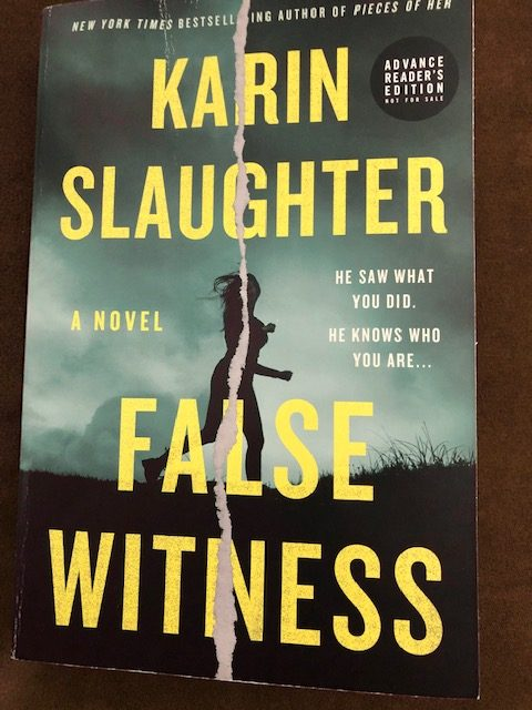 False Witness by Karin Slaughter Book Cover #altread