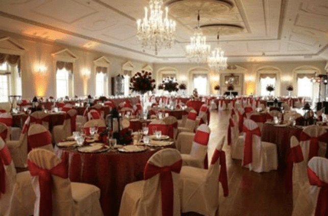 Michael's Wedding - The staircase and ballroom on #altread