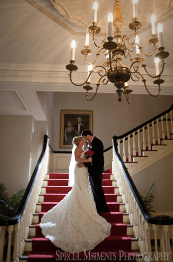 Michael's Wedding - The staircase