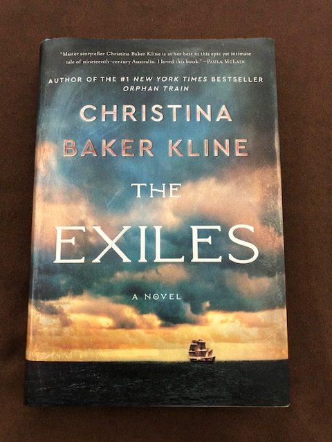 The Exiles by Christina Baker Kline Book Cover