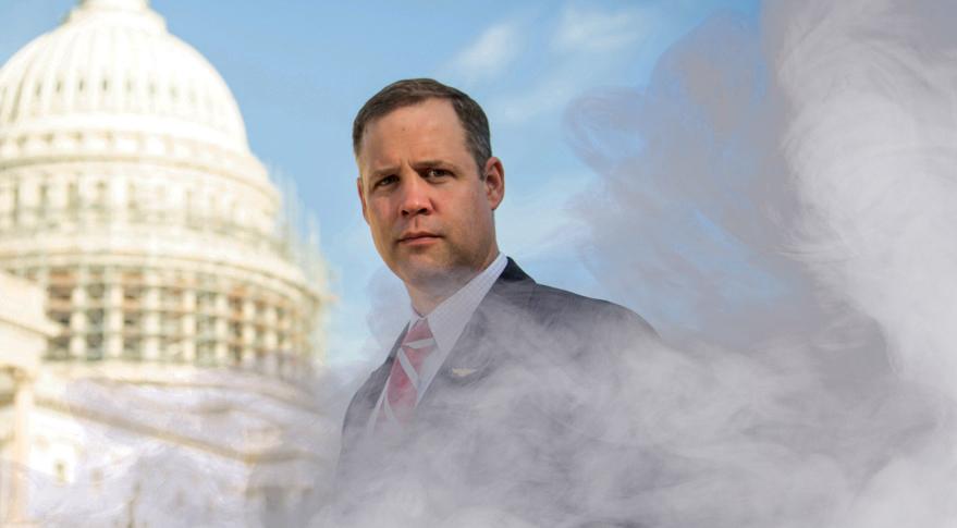 Jim Bridenstine Wants NASA To Install Weed Dispensary On International Space Station