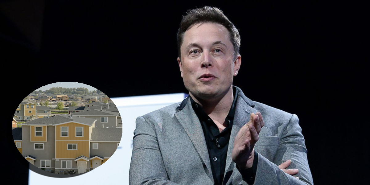 Elon Musk Dedicated To Building Affordable Housing On Mars
