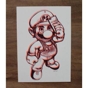 Mario In Orange By Planet Selfie