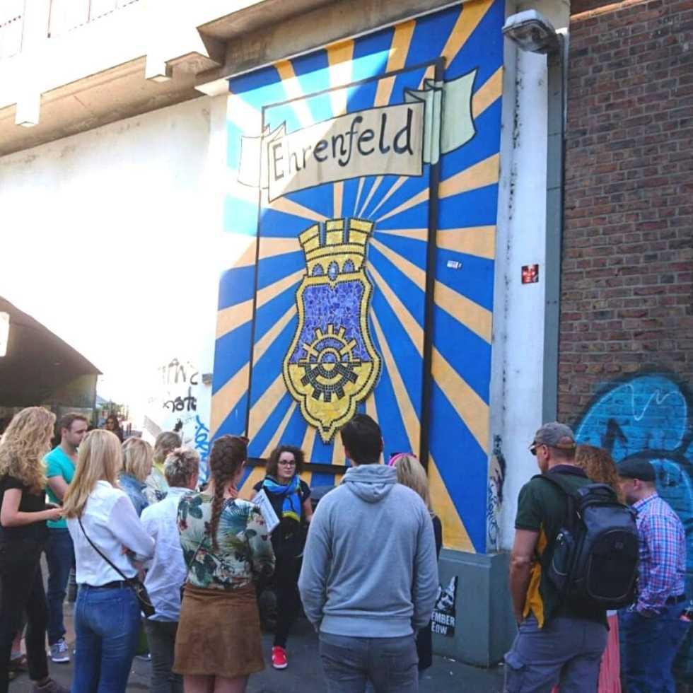 Straßenkunst Führung Köln