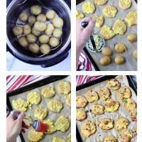 Garlic Smashed Potatoes (Oil Free)