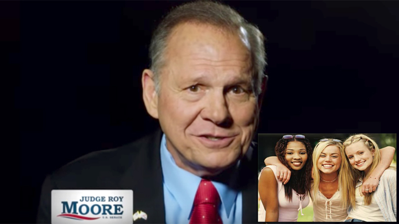One Woman's Take: Roy Moore Was A Gift From God To All You Heathen Feminazis!
