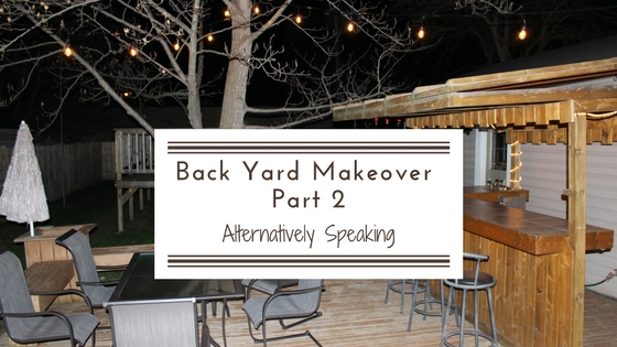 Back Yard Makeover Part 2