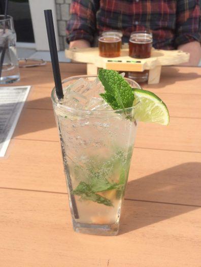 mojito, mixed drinks, vodka