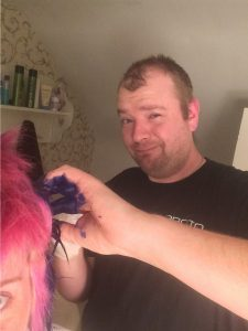 hair dye, dye, coloured hair, hair