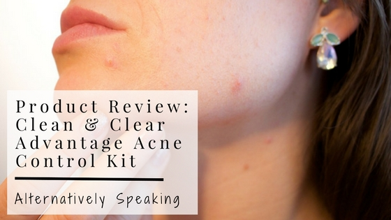 Product Review: Clean & Clear Advantage Acne Control Kit