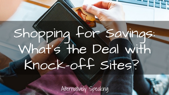 Shopping for Savings: What's the Deal with Knock-off Sites?