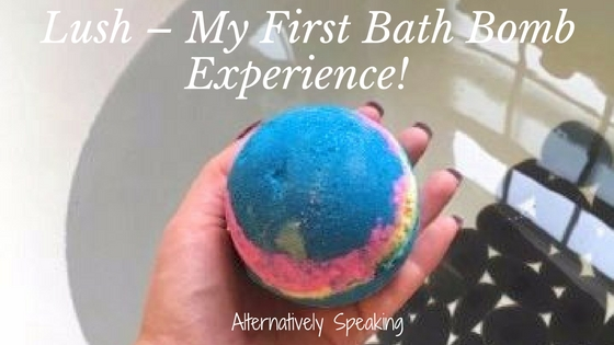 bath, bath bomb, Lush, Lush products, Intergalactic