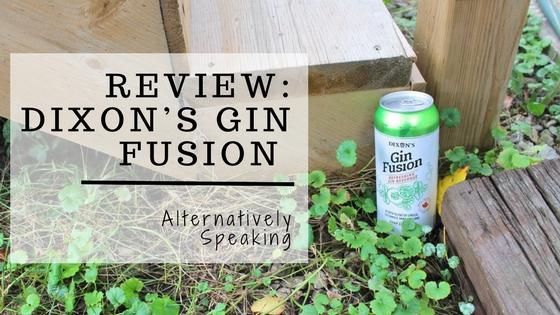 Review: Dixon's Gin Fusion