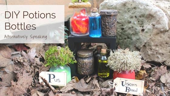 DIY Potions Bottles
