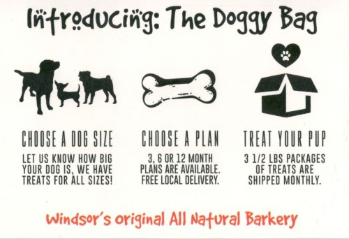 treats, dog treats, pet treats, Windsor/Essex, YQG