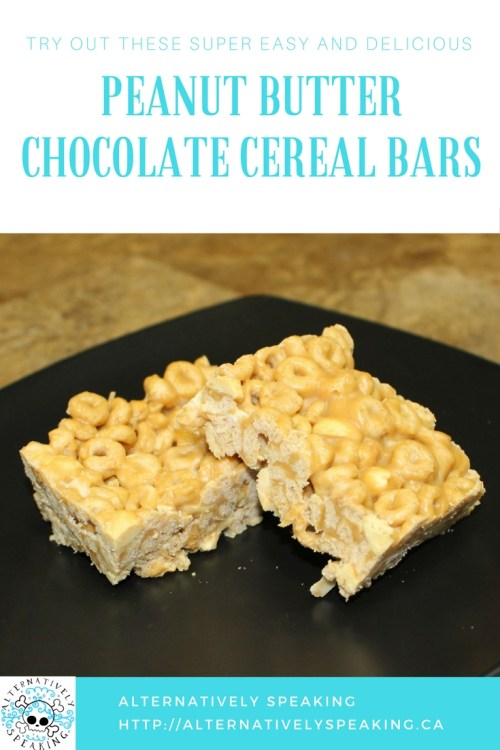 cereal bars, cereal, peanut butter, chocolate, peanut butter chocolate cereal bars, cheerios