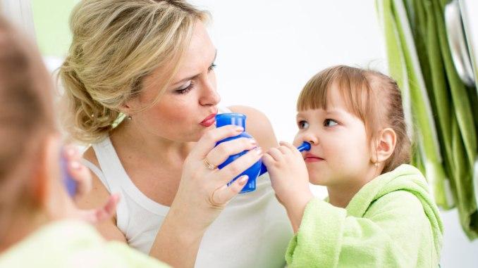 Can nasal washing fight asthma?