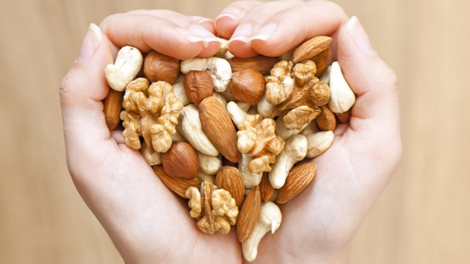 Nuts are a great healthy food