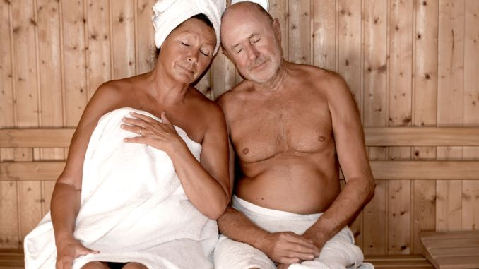 sauna bathing improves heart health