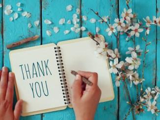 A secret benefit for expressing gratitude.