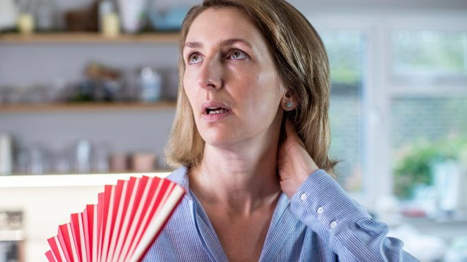 hot flashes from menopause