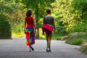 does walking improve mental health