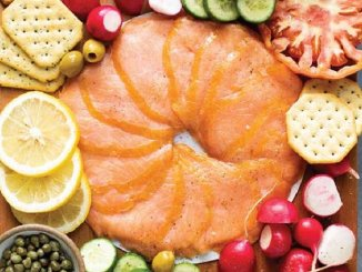 Smoked salmon is a great holiday meal option