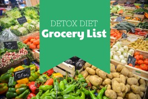 Detox Diet Grocery List