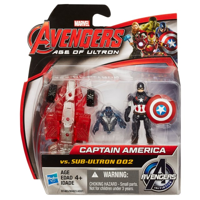 Captain America 2-pack pkg