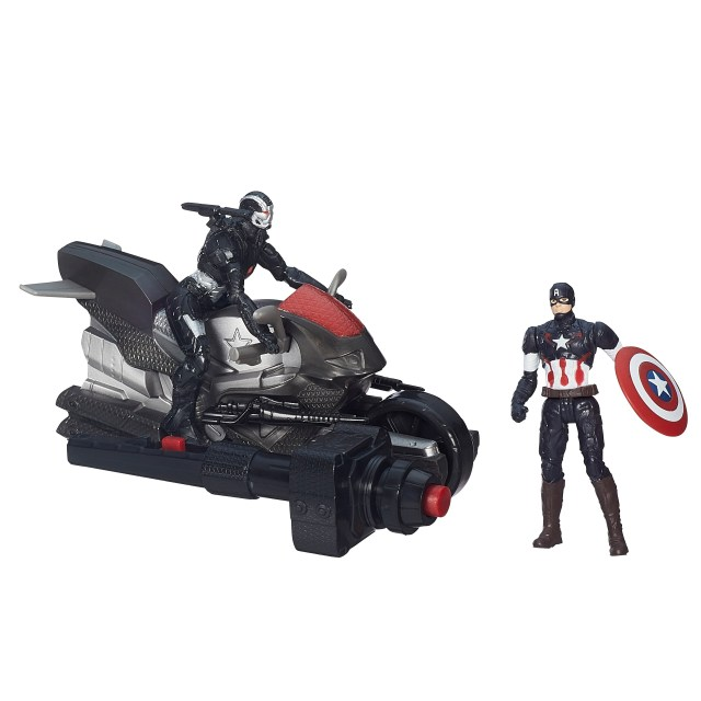 Captain America War Machine