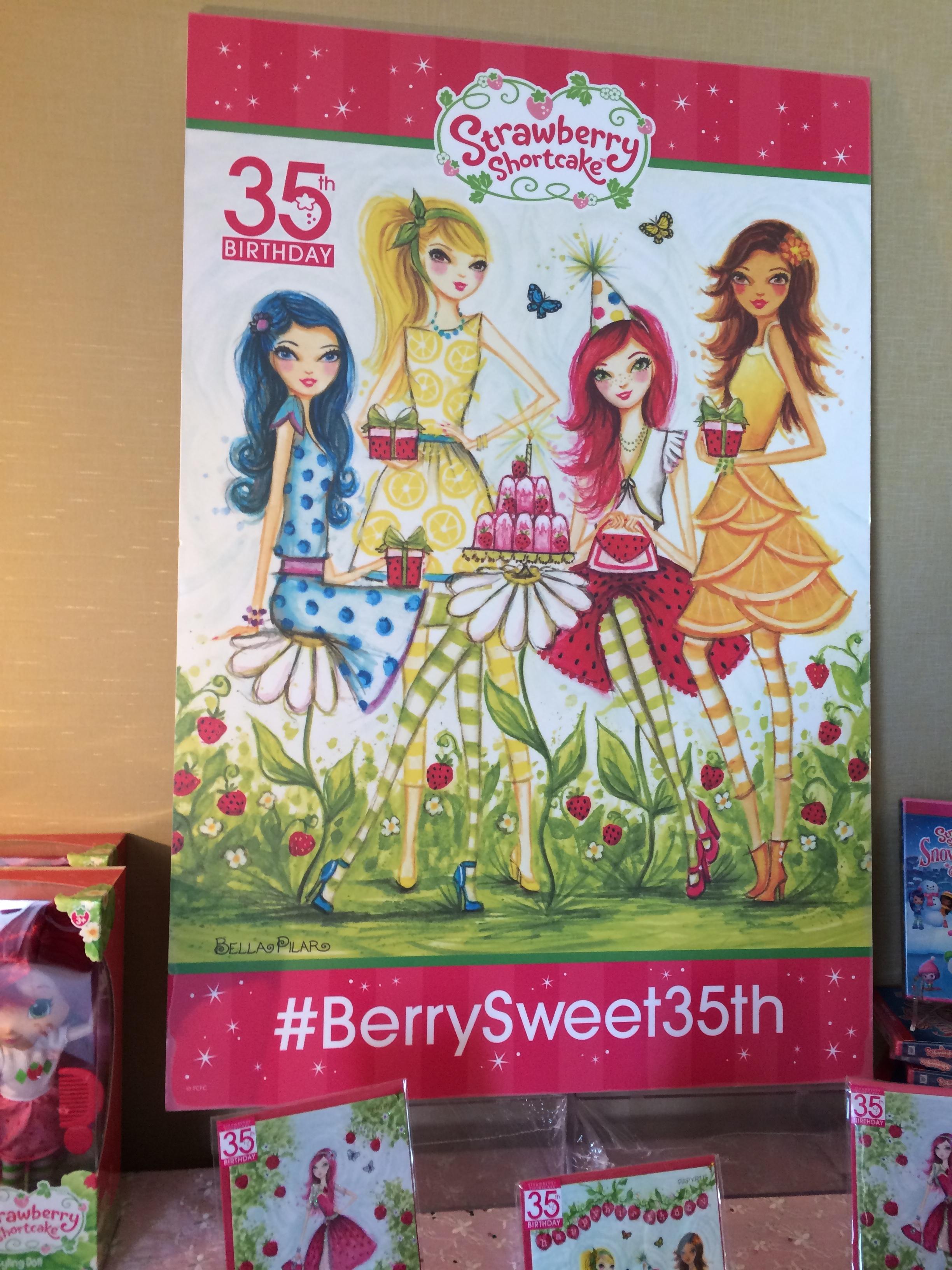 Strawberry Shortcake 35th Anniversary Press Release – Strawberry Shortcake Birthday Cards