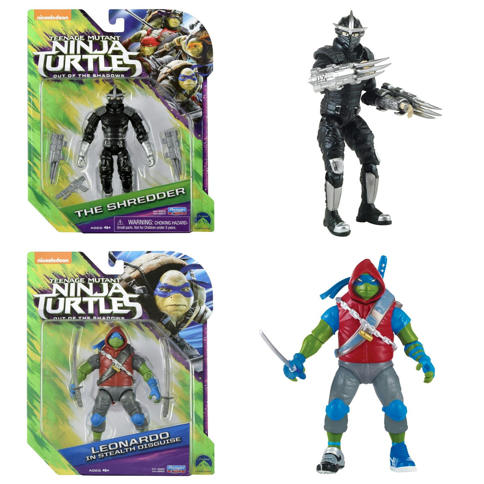 2016 Nickelodeon Tmnt Teenage Mutant Turtles Splinter 88009 Shadows