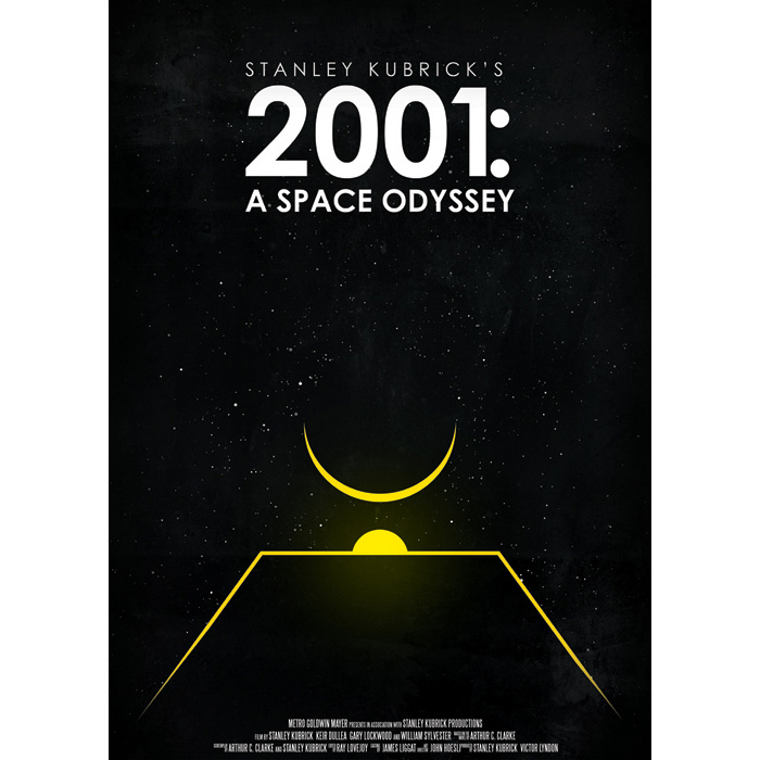 2001 A Space Odyssey by Robert Olah