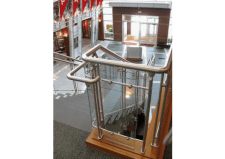 attractive functional railing