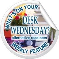 What's on your desk, Wednesday? #Author Anthony Stevens #WOYDW #AltRead #GuestDesk #BookishMeme #DeskMeme