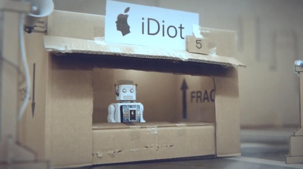 idiots robots iphone