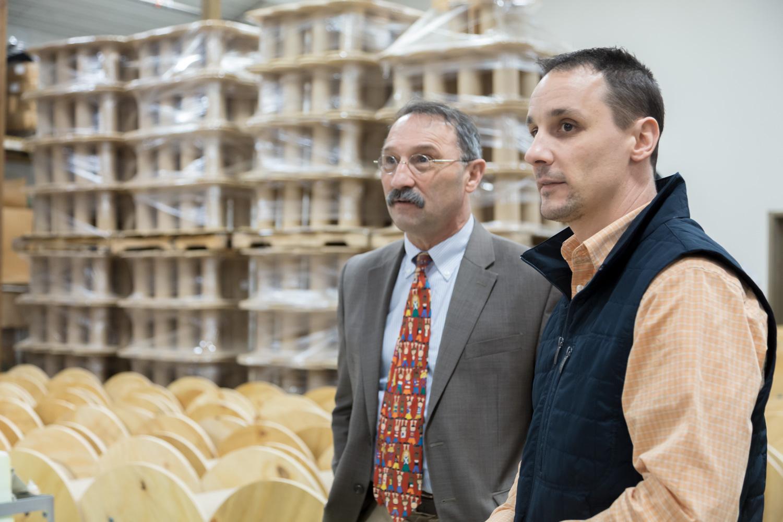 Assemblyman John Salka visits Alternatives Industry & The Arc of Madison Cortland