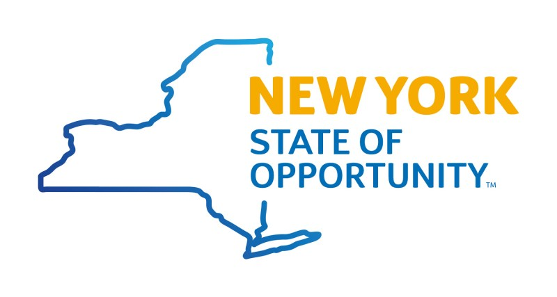 The logo for New York State of Opportunity