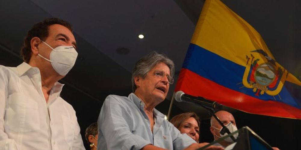 Défaite d'Andres Arauz aux élections présidentielles équatoriennes