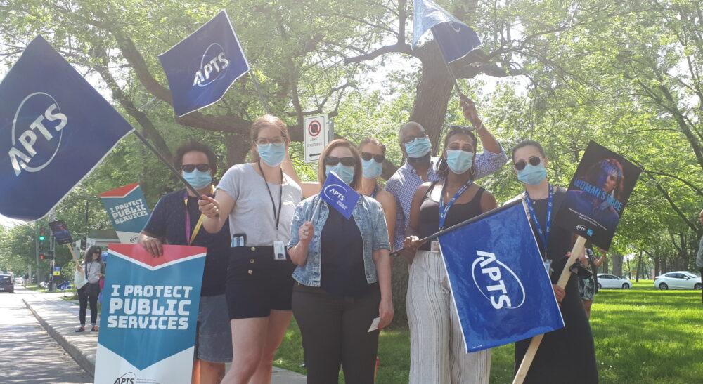 Journées de grève à l'APTS