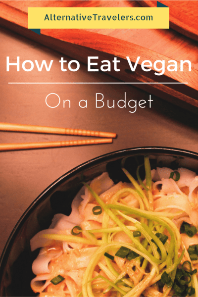 how to eat vegan on a budget