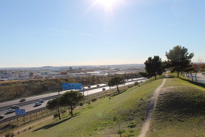 Vallecas, Madrid, the neighborhood in which one of my schools was located.