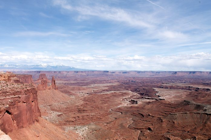View from Mesa Arch.