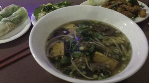 All Chay pho - vegan Salt Lake City