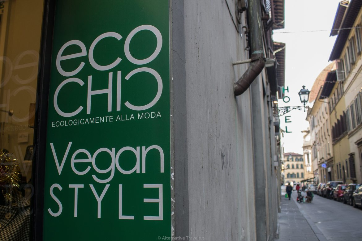 Vegan Shopping in Florence, Italy at Eco Chic