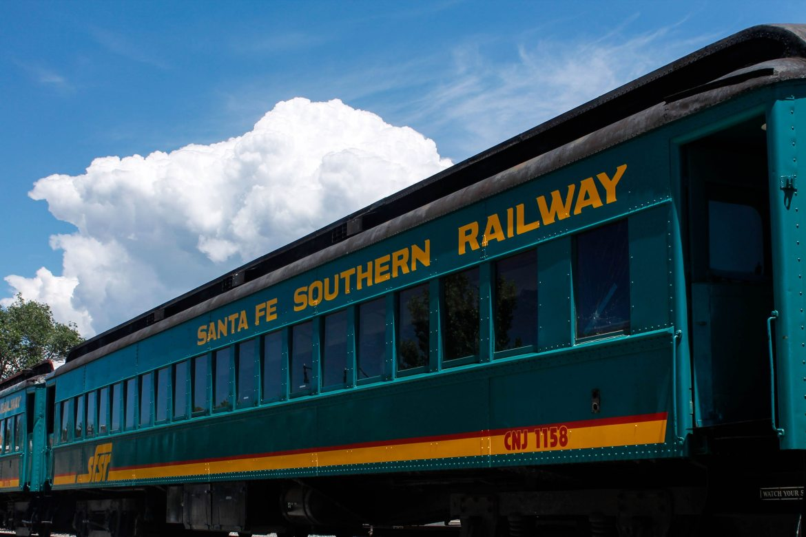 Santa Fe Southern Railway train | AlternativeTravelers.com