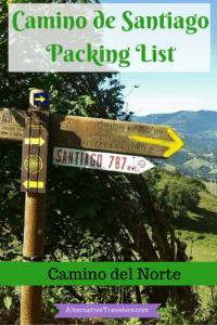 Spain Travel: Camino de Santiago Packing List- Camino del Norte