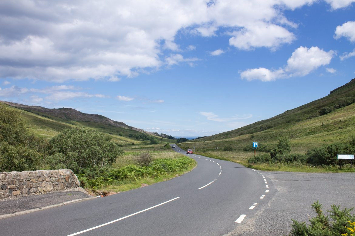 Road to Lochranza on Isle of Arran | AlternativeTravelers.com